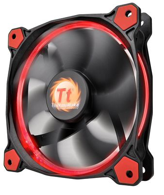 THERMALTAKE Ring 14 High Static Pressure 140mm Circular Ring Case Fan Red – Bild 2