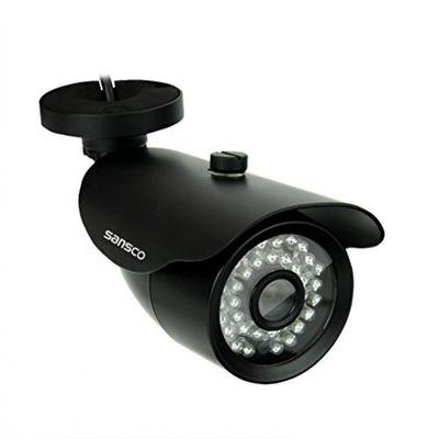 Kare ® 4 Kanal CCTV DVR-Kamera System mit 4 x HD 720P/1200TVL-Bullet-Kamera (HD720p, wetterfest,vandalensicher),Schwarz – Bild 4
