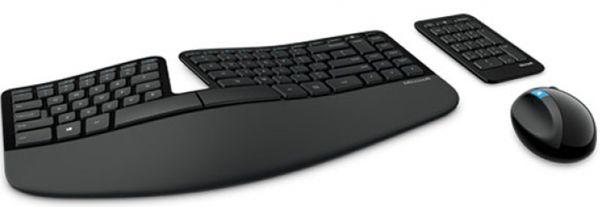 Microsoft L5V-00013 USB Schwarz Tastatur (ITA Layout - QWERTY)