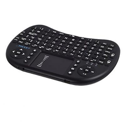 eSYNiC Mini-Tastatur Hintergrundbeleuchtung mit Trackpad Fernbedienung Touchscreen XBMC XBMC Android für Dongle Android-TV-Box Tivo HTPC IPTV Tablet-PC Raspberry Pi Konsole Beamer (FRA Layout - AZERTY) – Bild 4