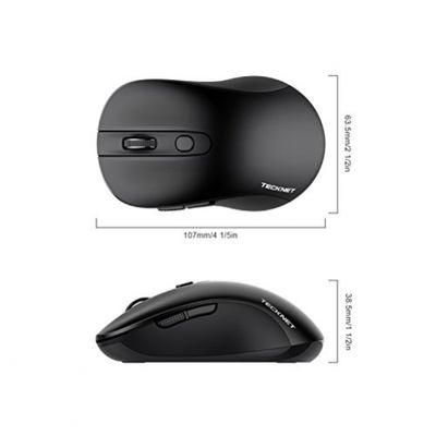 Wireless Maus TeckNet PURE 2.4G Kabellose Maus Wireless Mouse, drei justierbare DPI Level, 2000 DPI, 18 Monate Batterielaufzeit, Nano Emfpänger – Bild 7