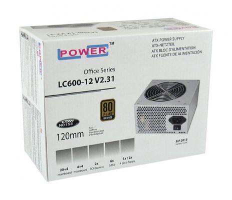 LC-Power LC600-12 V2.31 400W ATX Grau Netzteil – Bild 2
