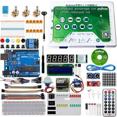 KOOKYE Ultimate Starter Kit mit Arduino Uno für Arduino Anfänger 19 Projekten – Bild 1