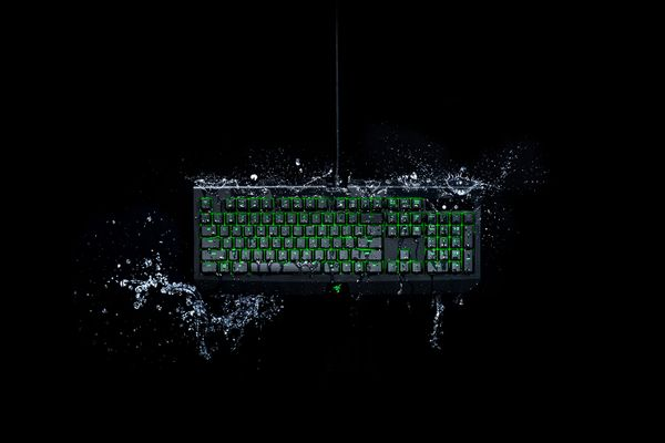 Razer Blackwidow Ultimate Green Switches (DEU Layout - QWERTZ) – Bild 5