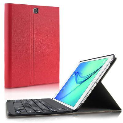 INFILAND Samsung Galaxy Tab A 9.7 Bluetooth Tastatur Red (DEU Layout - QWERTZ)  – Bild 1