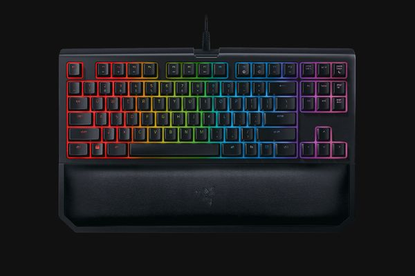 Razer BlackWidow TE Chroma V2 Keyboard Green Switches (DEU Layout - QWERTZ)
