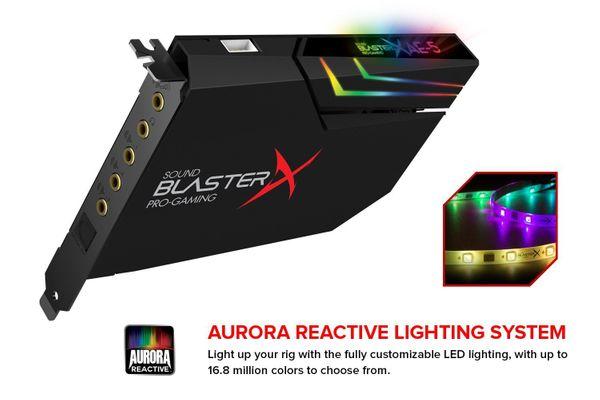 Creative Labs Sound BlasterX AE-5 Eingebaut 5.1Kanäle PCI-E – Bild 4