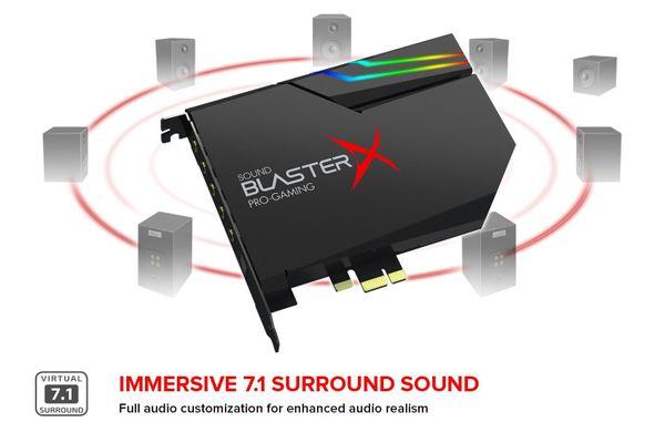 Creative Labs Sound BlasterX AE-5 Eingebaut 5.1Kanäle PCI-E – Bild 6