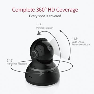 YI Dome Camera 1080p HD Pan/Tilt/Zoom Wireless IP Security Surveillance System Night Vision Cloud Service Available – Bild 1