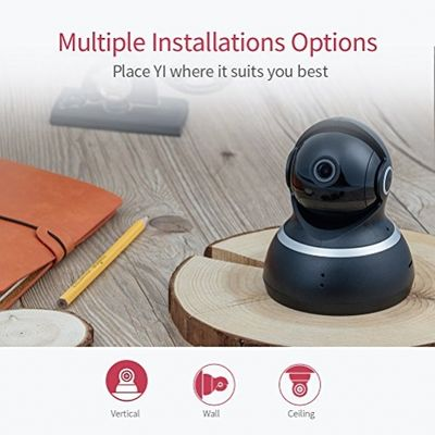 YI Dome Camera 1080p HD Pan/Tilt/Zoom Wireless IP Security Surveillance System Night Vision Cloud Service Available – Bild 6