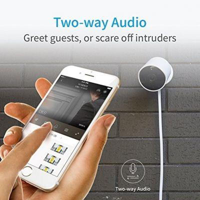 YI Außenkamera 1080p Wasserdichte Wireless IP Kamera Überwachungskamera für Außenbereich mit Nachtsicht, Bewegungsmelder, 2 Way Audio, lokalisierte deutsche App für Smartphone / PC, YI Cloud Service verfügbar – Bild 2