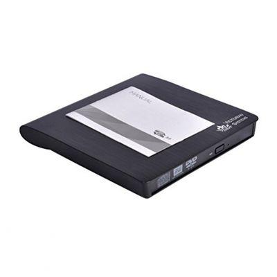 USB 3.0 Tragbare dünne externe DVD RW CD RW-Laufwerk DVD / CD-Brenner Writer Kopierer Reader, wiederbeschreibbare optische Laufwerk für alle Laptop, Desktop, Netbook, Notebook, Apple MAC – Bild 4
