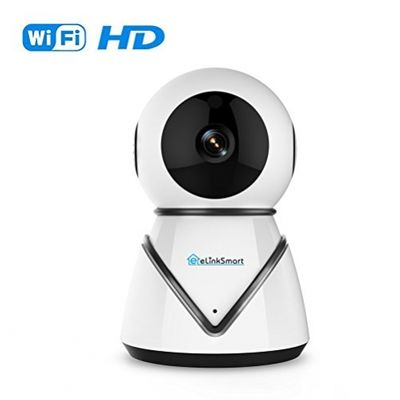 WiFi IP Camera Security Camera eLinkSmart Pan Tilt Zoom Indoor Surveillance Camera with 720P HD Night Vision Motion Detection Two-Way Audio Support Active Call – Bild 9