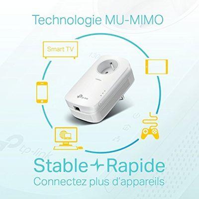 tp-link TL Adapter-Set CPL White Plug-Type E (FR) – Bild 4