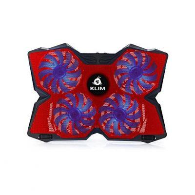 Klim Wind Gaming Cooling Pad for Laptop Red