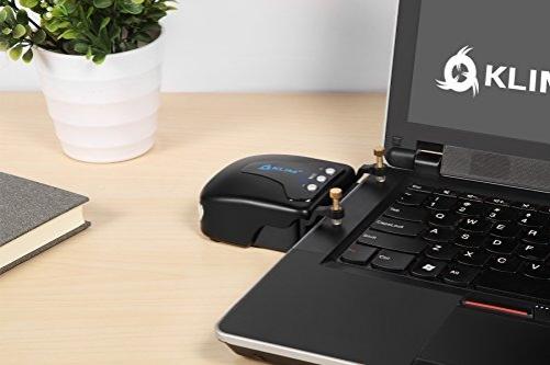 Klim Tornado Laptop Cooler Fan External Vacuum USB Blue
