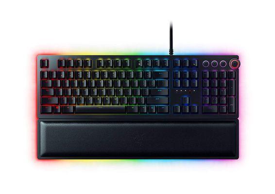 Razer Huntsman Elite Opto-Mechanical Gaming Keyboard (FRA Layout - AZERTY) – Bild 1