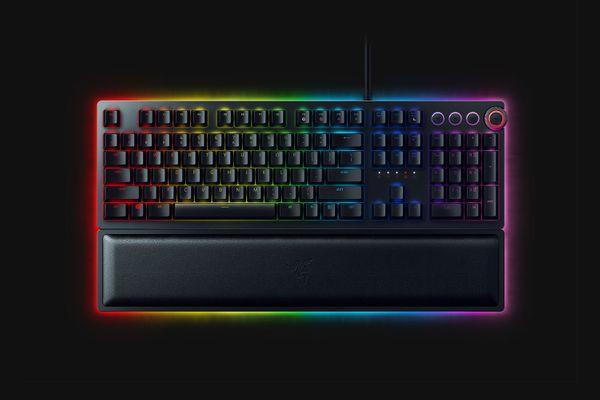 Razer Huntsman Elite Opto-Mechanical Gaming Keyboard (FRA Layout - AZERTY) – Bild 2