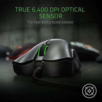 RAZER DeathAdder Essential Wired USB Gaming Mouse