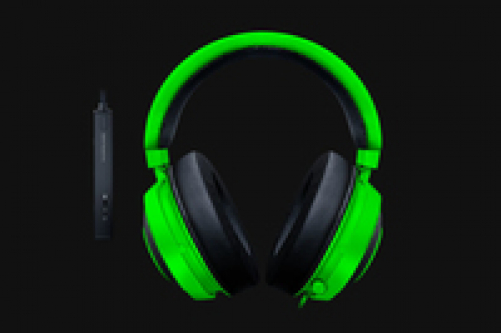 RAZER Kraken Tournament Edition Wired Gaming Headset With USB Audio Controller Green