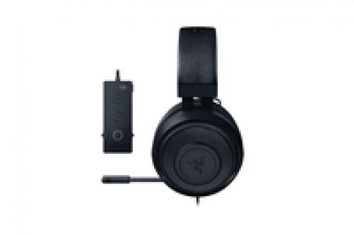 Razer Kraken Tournament Edition Wired Gaming Headset With USB Audio Controller Black