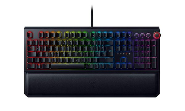 Razer Blackwidow Elite Mechanical Gaming Keyboard (DEU Layout - QWERTZ) Yellow Switches – Bild 1