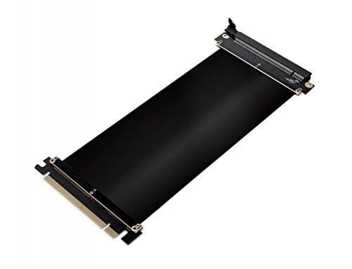 novonest PCI Express 16 x Flexible Kabel Karte Verlängerung Port Adapter High Speed Riser card-30 cm – Bild 8