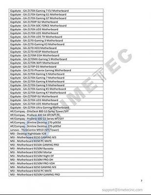 Timetec Hynix IC 8GB DDR4 2400MHz PC4-19200 Unbuffered Non-ECC 1.2V CL17 2Rx8 Dual Rank 288 Pin UDIMM Desktop Arbeitsspeicher Module Upgrade (8GB) – Bild 7