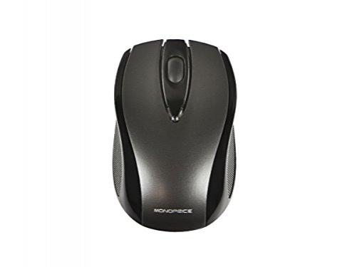 Monoprice M24 Wireless 3-Button Optical Mouse - Black – Bild 6