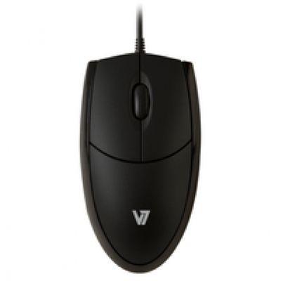 V7 MV3000010-BLK-5E Optische LED USB Maus - schwarz – Bild 1