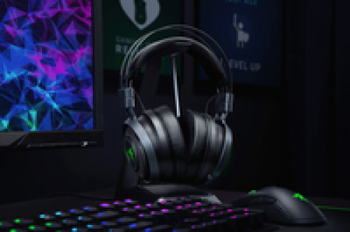 RAZER Nari Ultimate HyperSense Wireless/Wired Gaming Headset for PC & PS4* – Bild 3