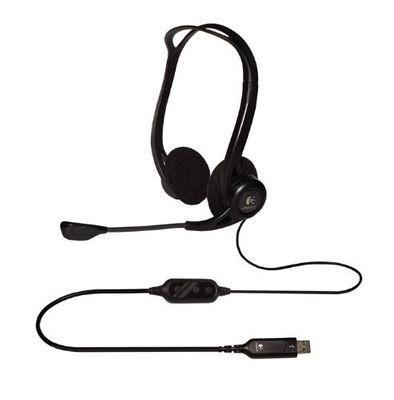 Logitech PC 960 Stereo Headset USB – Bild 4