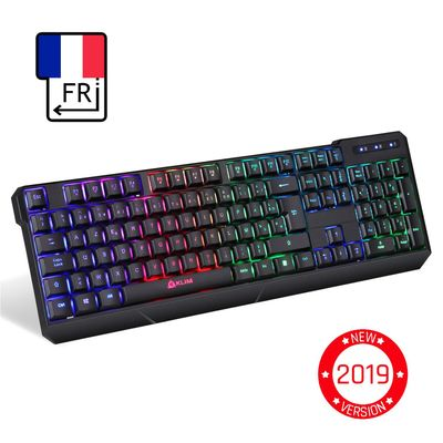 klim Chroma Wireless Gaming Keyboard (FRA Layout - AZERTY) – Bild 1