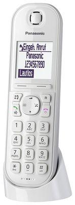 Panasonic KX-TGQ200 IP-Telefon Kabelloses Mobilteil LCD 4 Zeilen - Plug-Type C (EU) – Bild 2