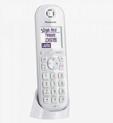 Panasonic KX-TGQ200 IP-Telefon Kabelloses Mobilteil LCD 4 Zeilen - Plug-Type C (EU) – Bild 1