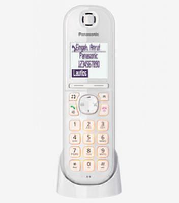 Panasonic KX-TGQ200 IP-Telefon Kabelloses Mobilteil LCD 4 Zeilen - Plug-Type C (EU) – Bild 4