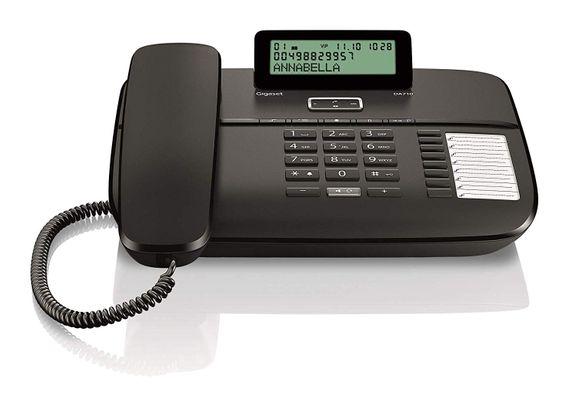 Gigaset DA710 Analoges Telefon Schwarz – Bild 2
