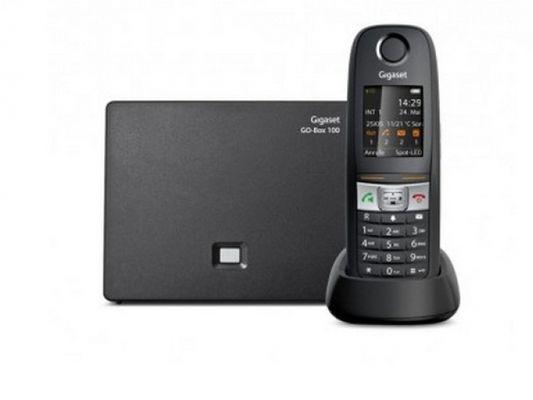 Gigaset E630A GO DECT-Telefon Schwarz Anrufer-Identifikation - Plug-Type F (EU) – Bild 3
