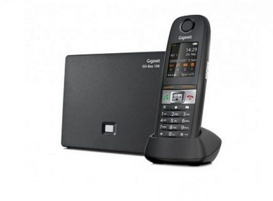Gigaset E630A GO DECT-Telefon Schwarz Anrufer-Identifikation - Plug-Type F (EU) – Bild 4