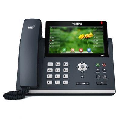 Yealink SIP-T48S IP-Telefon Schwarz Kabelgebundenes Mobilteil LCD 16 Zeilen - Plug-Type C (EU) – Bild 2