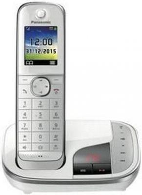 Panasonic KX-TGJ320 DECT-Telefon Weiu00df Anrufer-Identifikation - Plug-Type C (EU)