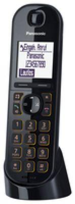 Panasonic KX-TGQ200 IP-Telefon Schwarz Kabelloses Mobilteil LCD 4 Zeilen - Plug-Type C (EU) – Bild 2