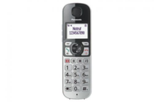 Panasonic KX-TGQ500GS IP-Telefon Silber Kabelloses Mobilteil LCD 4 Zeilen - Plug-Type C (EU) – Bild 3