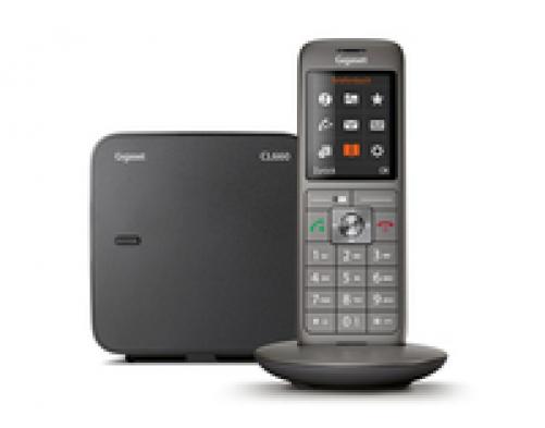 Gigaset CL660 Analog/DECT telephone Grau Anrufer-Identifikation - Plug-Type C (EU) – Bild 2