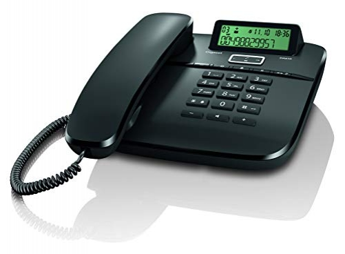 Gigaset DA610 Festnetz Telefon mit Schnur Schwarz