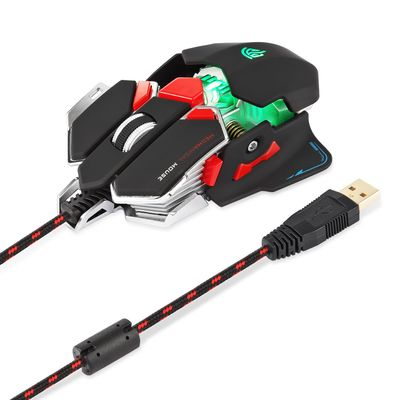Easysmx Gaming Mouse, Ratón Gaming Óptico Combaterwing-Gaming USB 4000 dpi