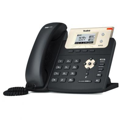 Yealink SIP-T21P E2 IP-Telefon Schwarz Kabelgebundenes Mobilteil LCD - Plug-Type C (EU) – Bild 1