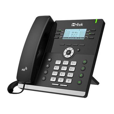 Tiptel Htek UC903 IP-Telefon Schwarz Kabelgebundenes Mobilteil LCD 6 Zeilen - Plug-Type C (EU)