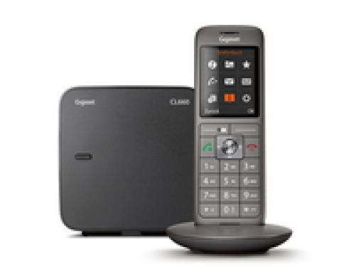 Gigaset CL660A Analoges/DECT-Telefon Grau Anrufer-Identifikation - Plug-Type C (EU) – Bild 2
