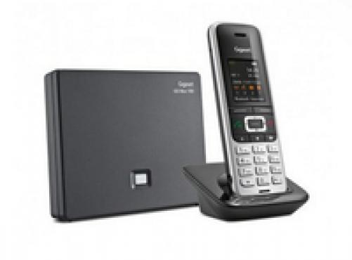 Gigaset S850A GO DECT-Telefon Schwarz, Platin Anrufer-Identifikation - Plug-Type C (EU) – Bild 3